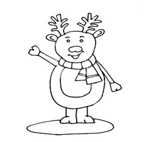 Download Reindeer template