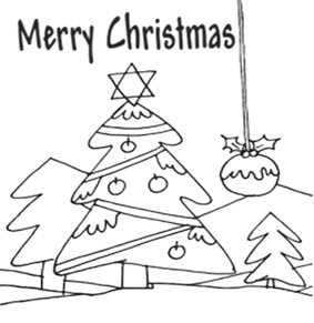 Download Christmas Tree template